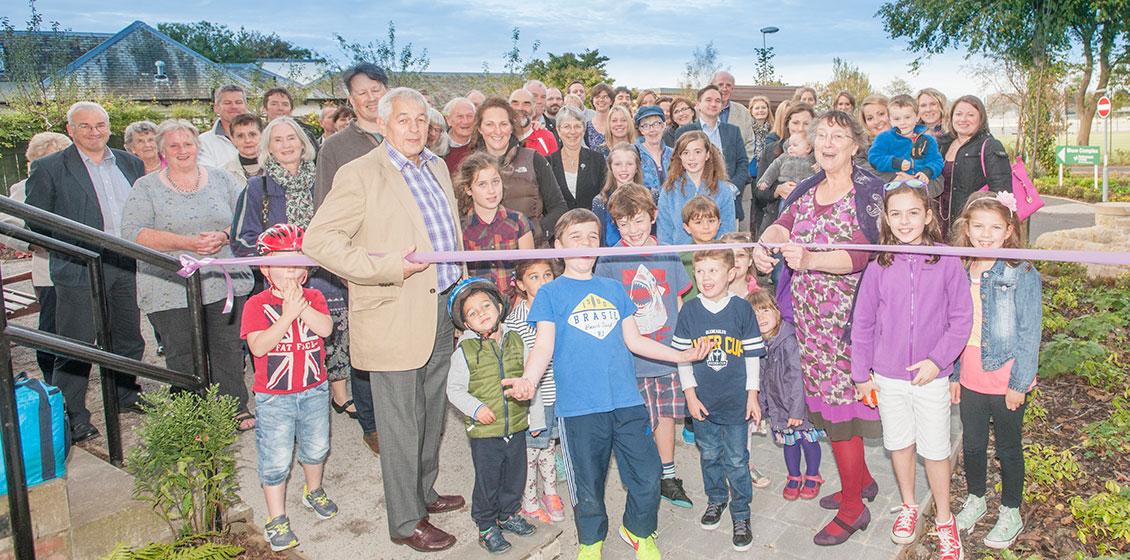 Juniper Green Village Hall garden opening