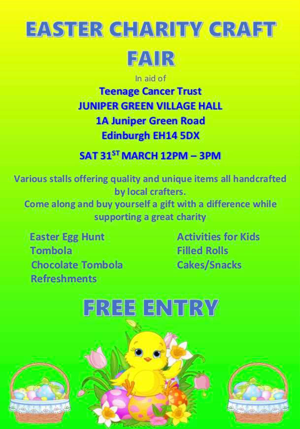 Easter Charity Craft Fair